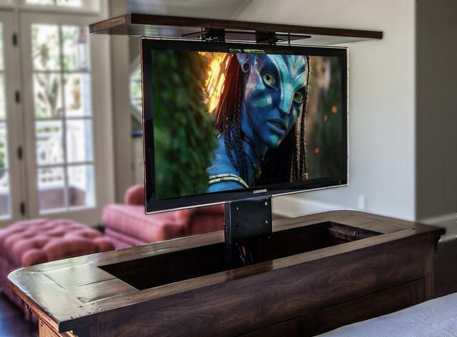 TV Installation - Lift