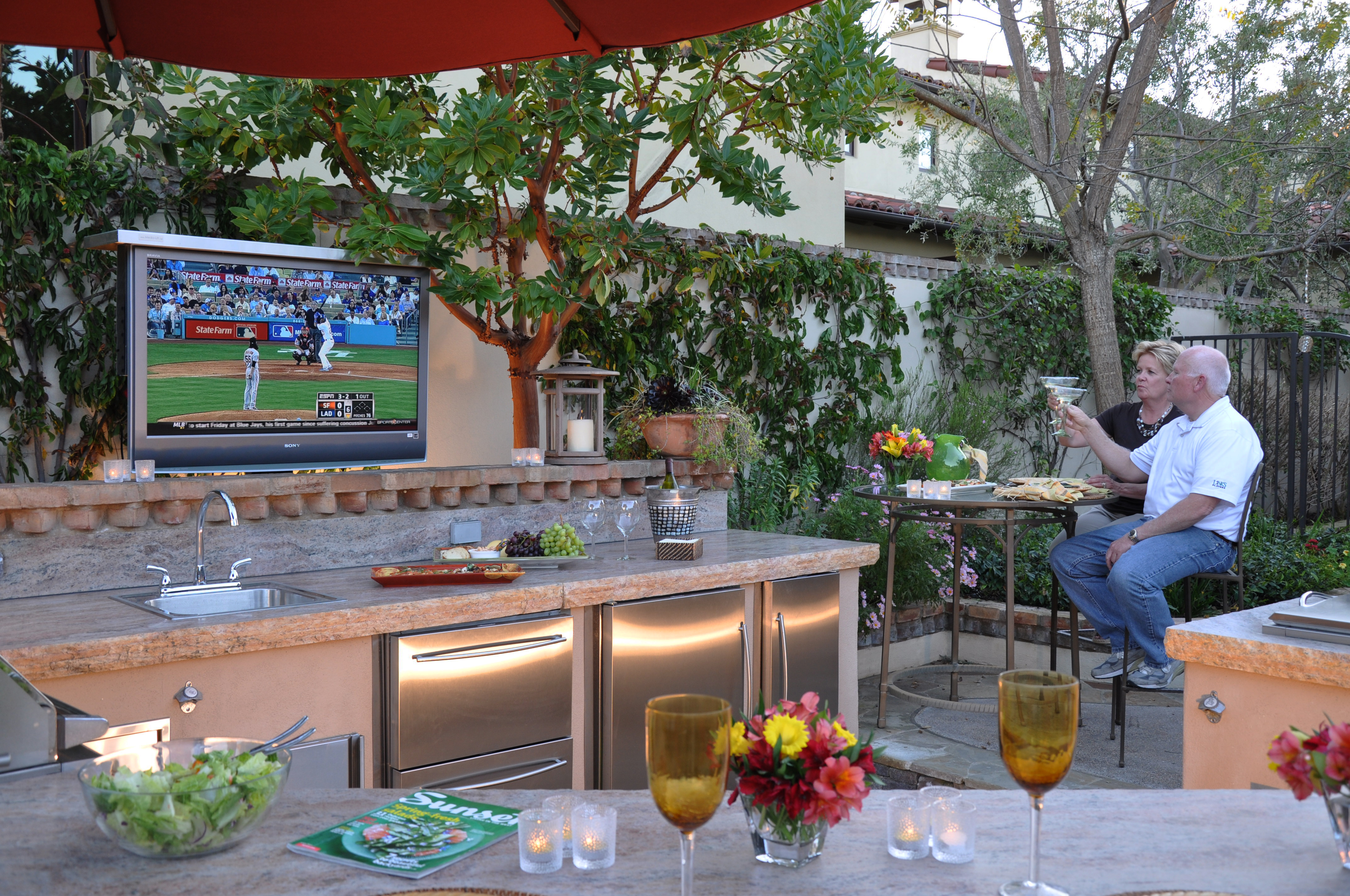 Mounting Television Outdoors Outdoor Ideas